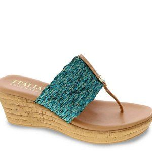 "Italian Shoemakers ""Angeles"" Wedge Sandal"